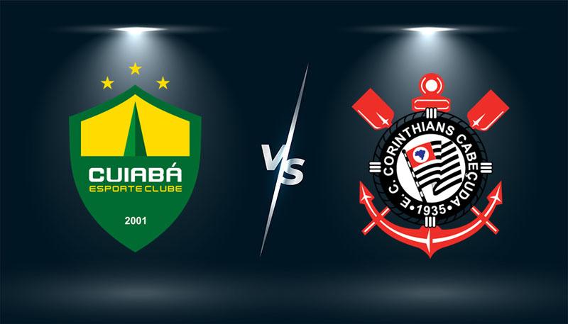 Cuiaba vs Corinthians  – Tip bóng đá hôm nay 06h00 – 27/07/2021 –   VĐQG Brazil