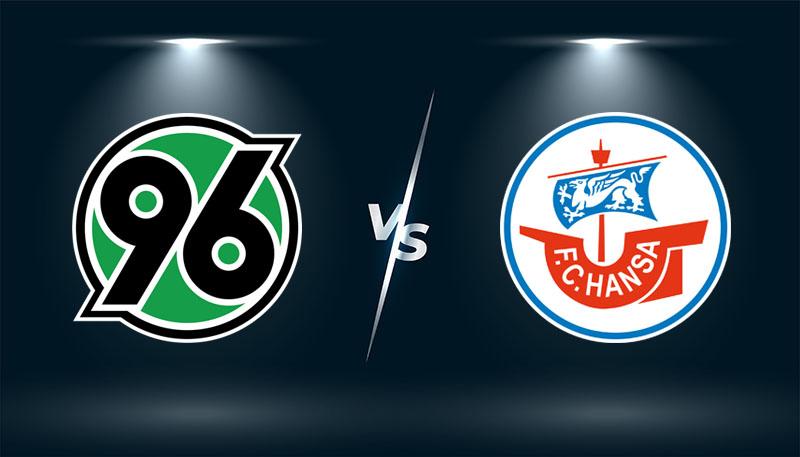 Hannover 96 vs Hansa Rostock – Soi kèo bóng đá 18h30 – 31/07/2021 –  Olympic 2020