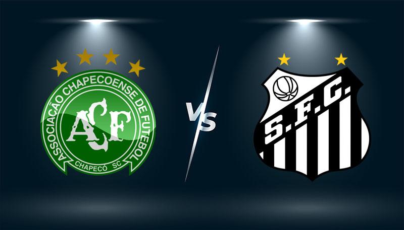 Chapecoense-SC vs Santos  – Tip bóng đá hôm nay 04h15 – 02/08/2021 –  VĐQG Brazil