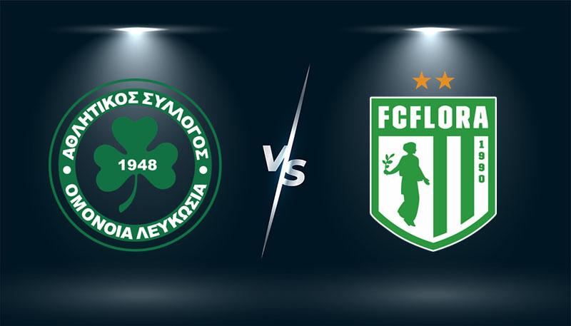 Omonia vs Flora Tallinn  – Tip bóng đá hôm nay 23h00 – 05/08/2021 –  Europa League