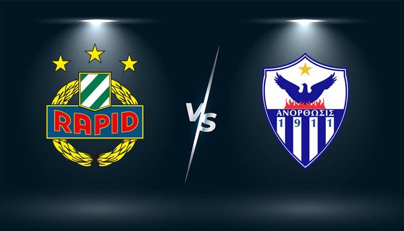 Rapid Vienna vs Anorthosis   – Tip bóng đá hôm nay 02h05 – 06/08/2021 –    Europa League