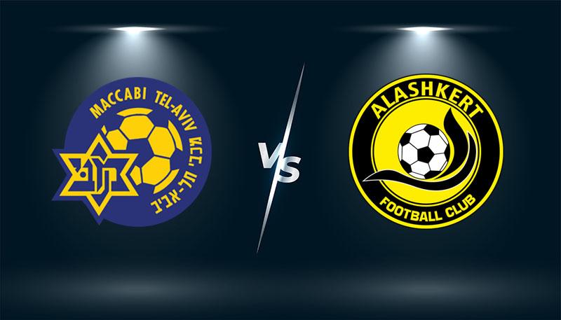 Maccabi Tel Aviv vs Alashkert   – Tip bóng đá hôm nay 21h30 – 14/09/2021 –   Europa Conference League