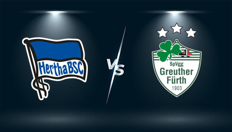 Hertha Berlin vs SpVgg Greuther Furth   – Tip bóng đá hôm nay 01h30 – 18/09/2021 –  VĐQG Đức