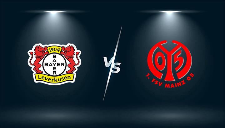 Bayer Leverkusen vs FSV Mainz 05  – Tip bóng đá hôm nay 20h30 – 25/09/2021 –   VĐQG Đức