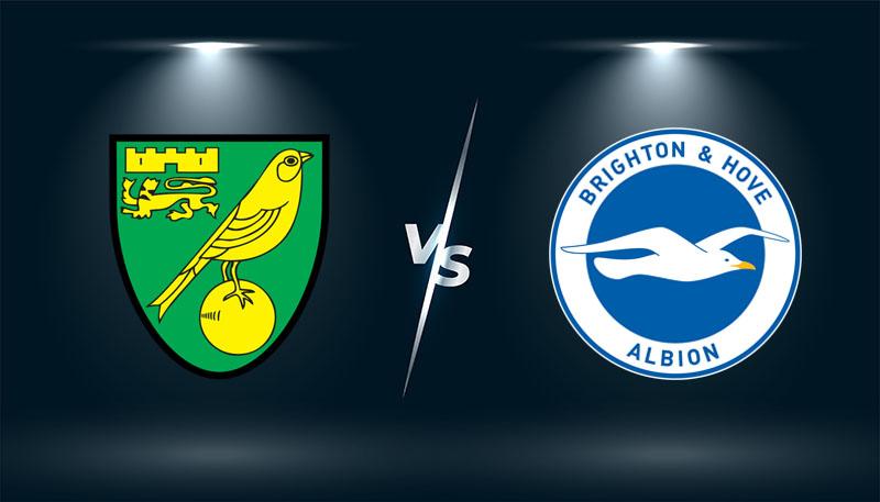 Norwich vs Brighton  – Tip bóng đá hôm nay 21h00 – 16/10/2021 –   Ngoại hạng Anh