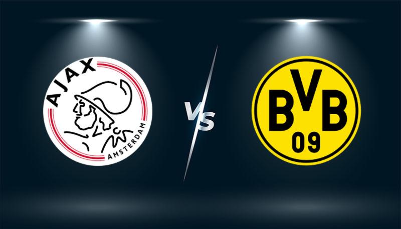 Ajax vs Borussia Dortmund  – Tip bóng đá hôm nay 02h00– 20/10/2021 –  Champions League