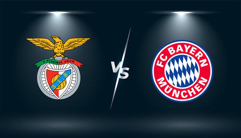 Benfica vs Bayern Munich  – Tip bóng đá hôm nay 02h00 – 21/10/2021 –  Champions League