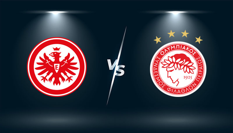 Eintracht Frankfurt vs Olympiakos    – Tip bóng đá hôm nay 02h00– 22/10/2021 –  Europa League