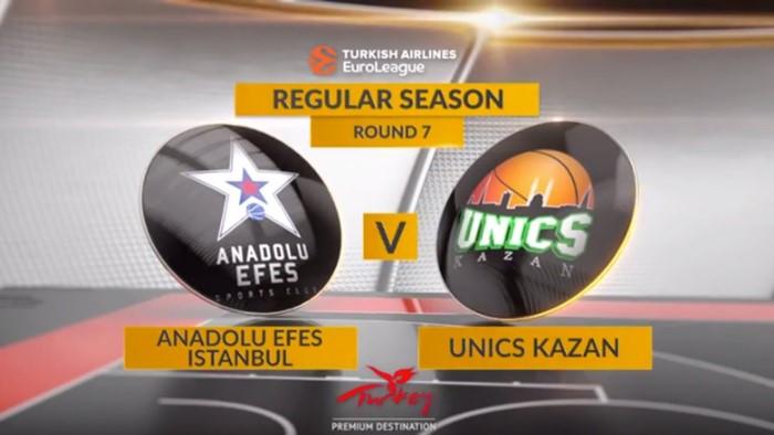 Anadolu Efes vs UNICS Kazan – Nhận định, soi kèo bóng rổ 00h00 22/10/2021 – EuroLeague
