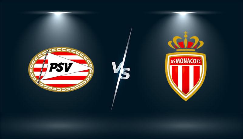 PSV Eindhoven vs Monaco   – Soi kèo bóng đá 02h00– 22/10/2021 –   Europa League
