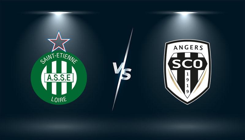 Saint Etienne vs Angers   – Tip bóng đá hôm nay 02h00– 23/10/2021 –  VĐQG Pháp