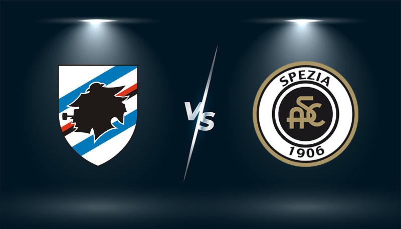 Sampdoria vs Spezia   – Soi kèo bóng đá 01h45– 23/10/2021 –   VĐQG Italia