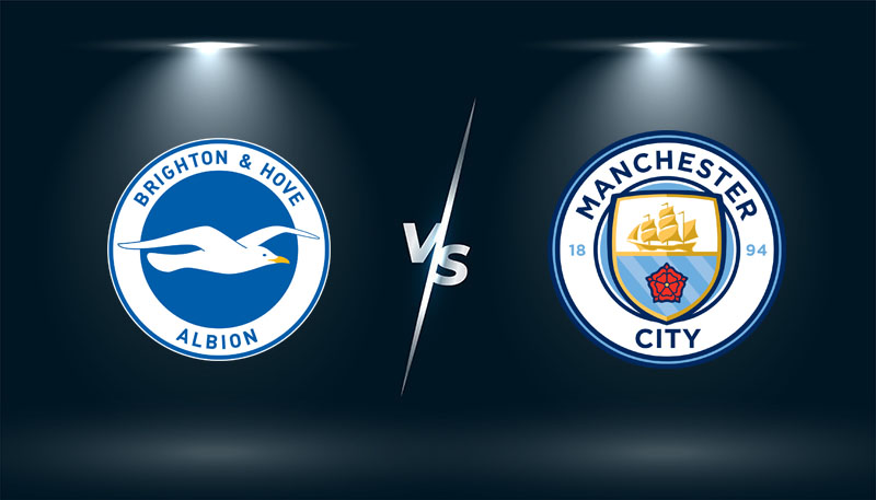 Brighton vs Manchester City   – Tip bóng đá hôm nay 23h30– 23/10/2021 –  Ngoại hạng Anh